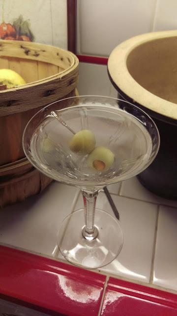 A Perfect Extra Dry Martini