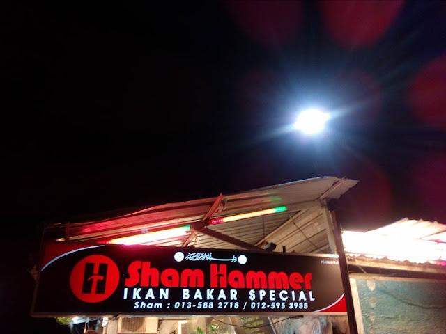 Sham Hammer | Ikan Bakar Special di Penang