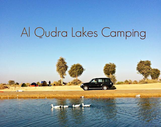 Al Qudra Lake Camping