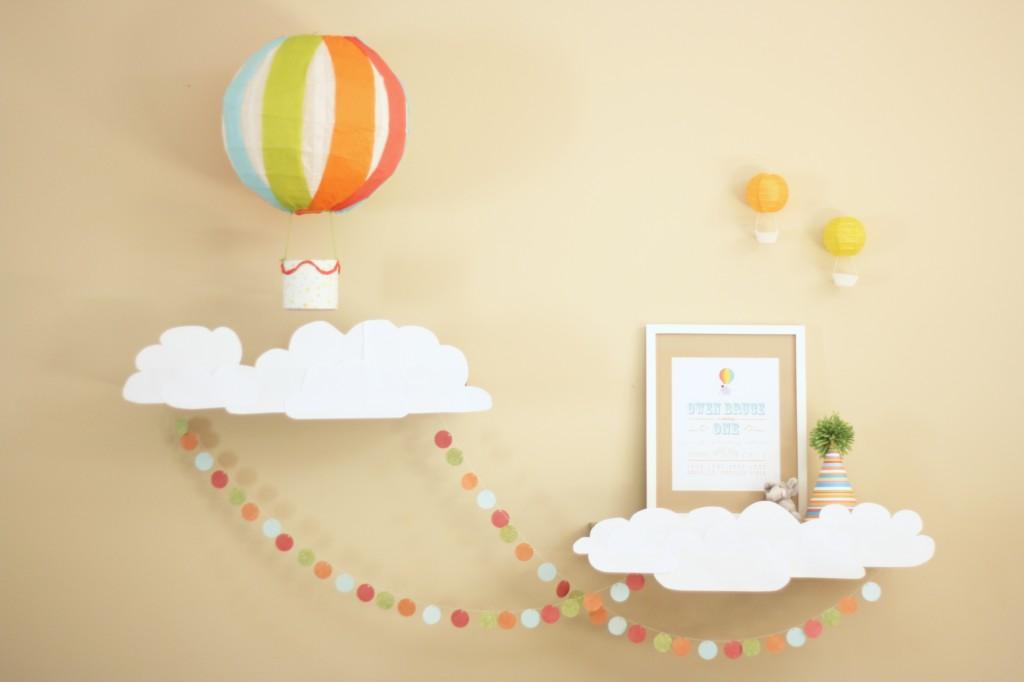 Hot Air Balloon Nursery Decorations 22