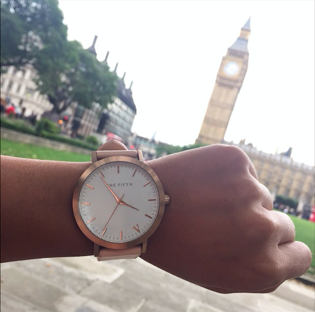 The Fifth Watches Rose Gold and Peach Review
