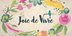 Joie de Vivre fabrics by Bari J for Art Gallery Fabrics. Sold at Pink Castle Fabrics.