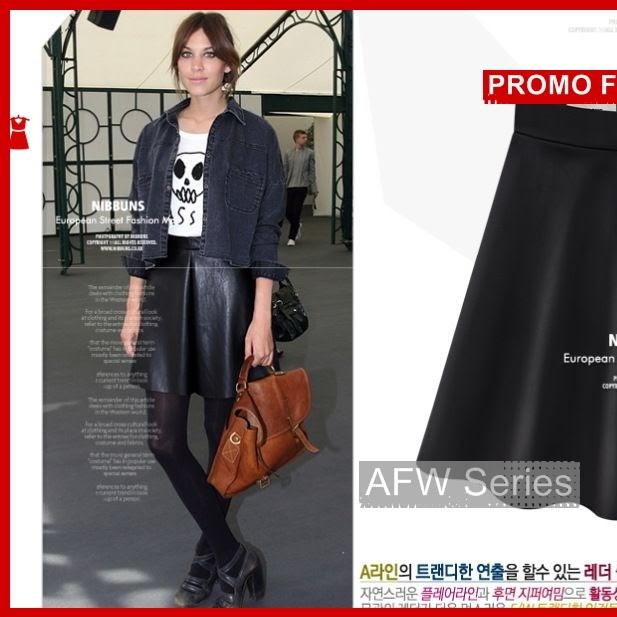 BAMFGW128 Leather Celana Kulot Wanita PROMO 999