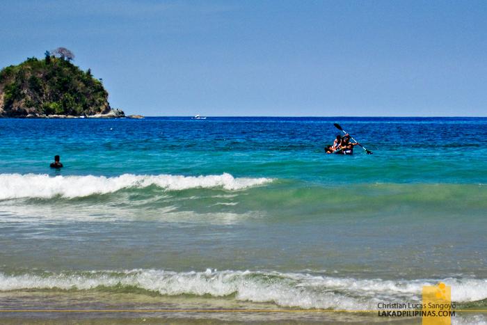 El Nido Nacpan Beach Palawan Rescue Drowning