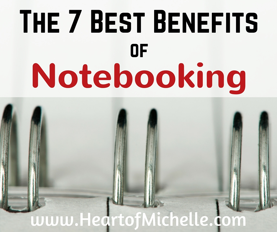 benefits of notebooking