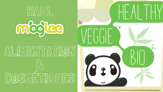 haul unboxing moglee vegetalien vegan