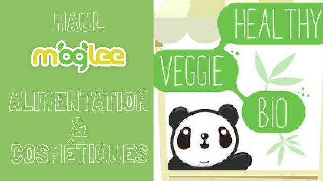haul unboxing moglee vegetalien vegan