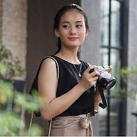 foto profil biografi Dinda Hauw dari kecil sampai sekarang dewasa
