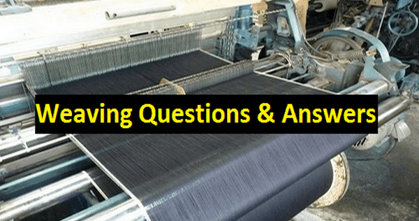Important Terms and Definitions of Fabric Manufacturing