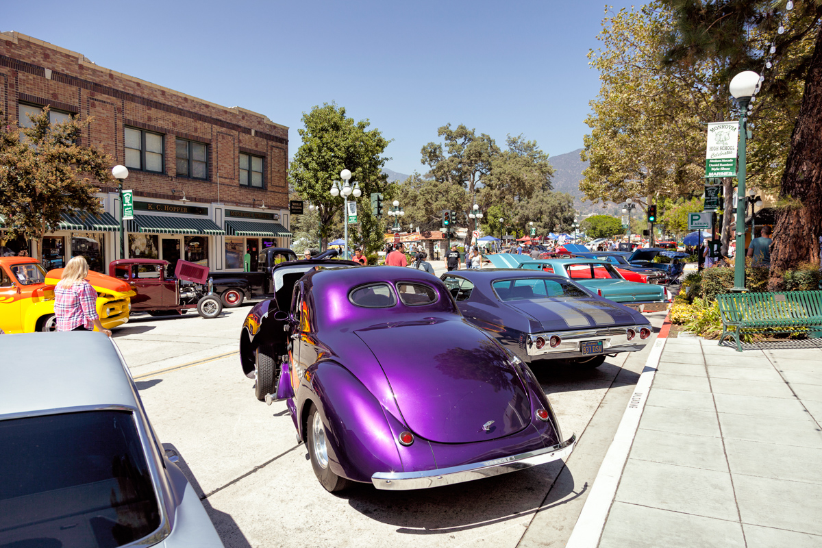 Car Show In Old Town Monrovia - Old town car show 2018