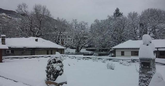 Ήπειρος: ΣΤΑ ΟΡΕΙΝΑ - Κρύο, βροχή και χιόνι....