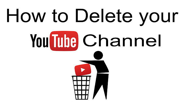 how to delete youtueb channel