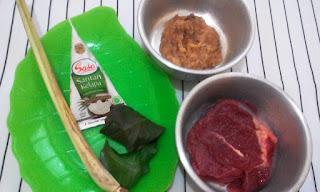 sasa santan kelapa kreasi masakan resep