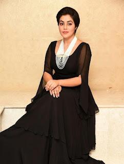 Poorna Photos in Black Dress