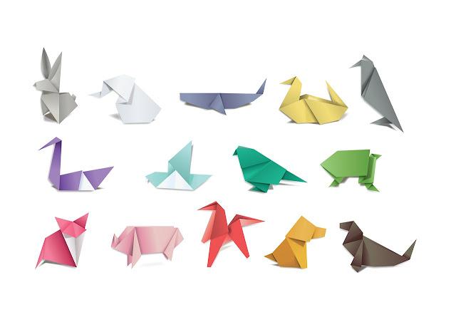 4 Cara Melipat Mawar Kertas (origami bunga mawar)