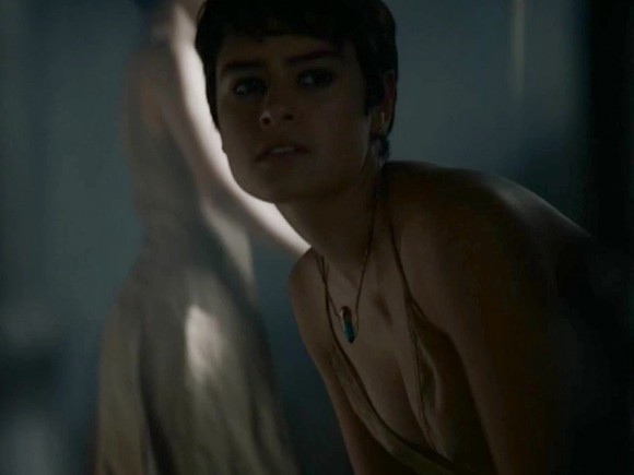 Emilia clarke nude sex scene in voice from the stone series 6