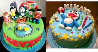 Foto Kue Ulang Tahun Doraemon