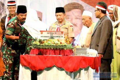 Kumpulkan Pucuk Pimpinan TNI dan Polri, Habib Luthfi Ajak Makan Kumpul Bareng Rakyat