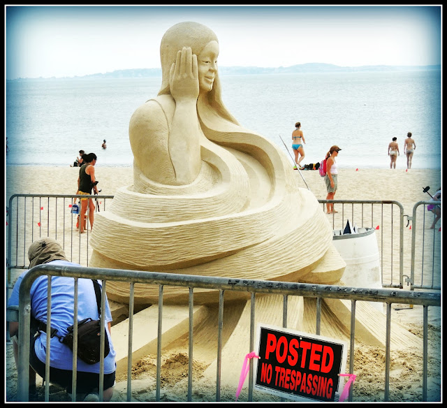 Revere Beach National Sand Sculpting Festival: Esculturas de Arena