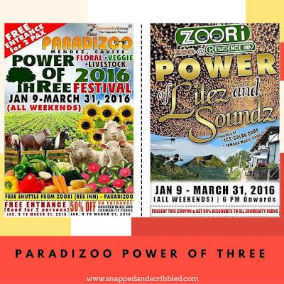 Paradizoo Farm Power of Three Festival 2016