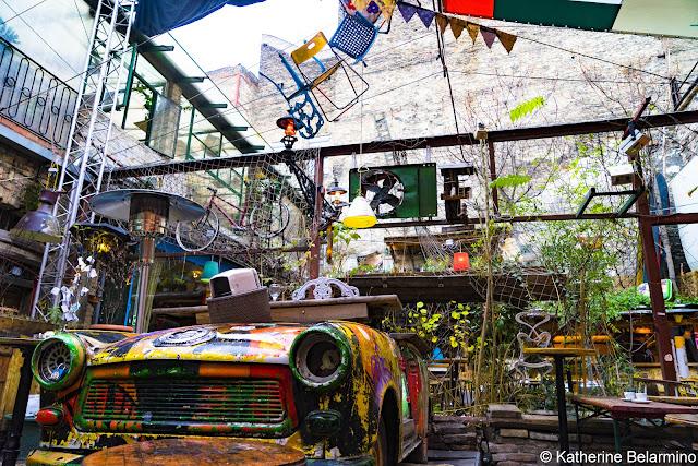 Szimpla Trabant Ruin Bar Budapest Hungary