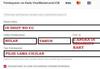 Cicilan kartu Kredit  0% di Bukalapak