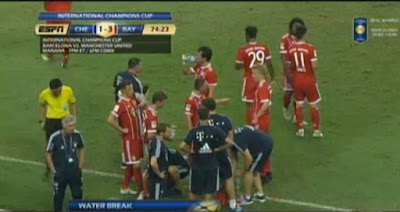 Chelsea vs Bayern Munchen ICC 2017 Singapura