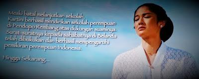 Film Kartini bercerita tentang Putri Bangsawan yang jadi Kebanggaan
