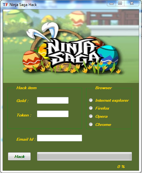 Cheat Ninja Saga 2017 Fiddler : cheat, ninja, fiddler, Ninja, Token