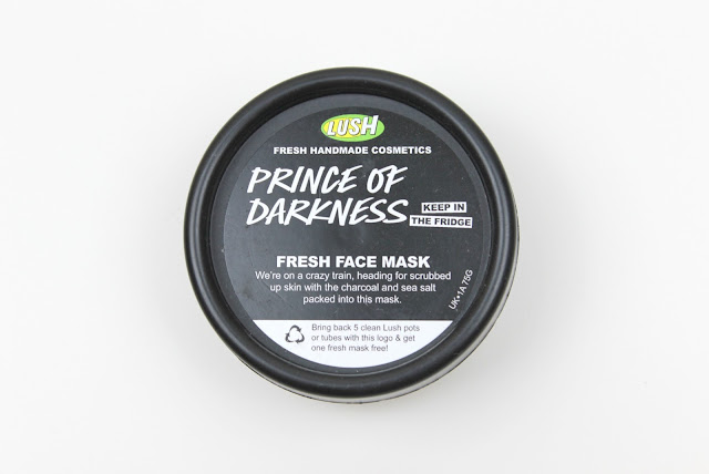 Lush Prince of Darkness Fresh Face Mask Review