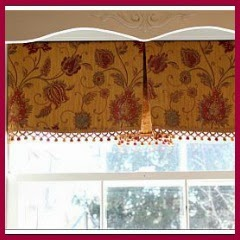 CORTINAS CON PLIEGUE CENTRAL