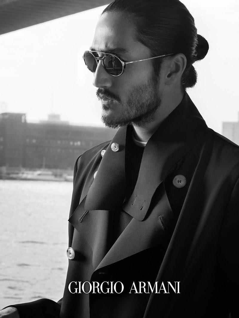 537eebd249 The Essentialist - Fashion Advertising Updated Daily  Giorgio Armani Frames  of Life Eyewear Ad .