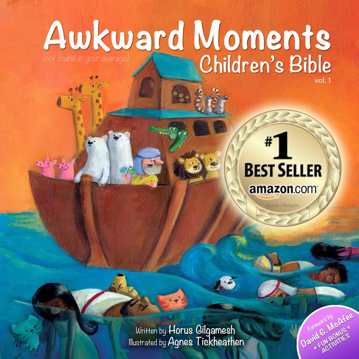 funny children's bible joke book - awkward moments