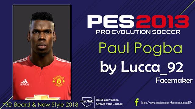 PES 2013 Paul Pogba Face