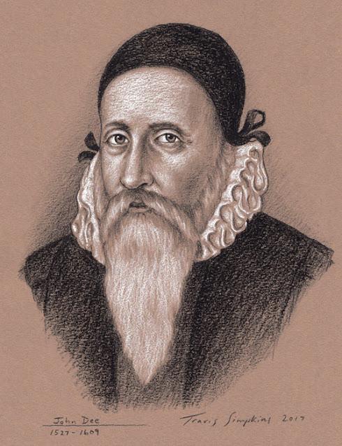 Dr. John Dee. Astronomy, Alchemy, Hermetic Philosophy. Enochian Angel Magick. by Travis Simpkins