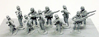 PR3 Infantry in Kepi – Firing Line Infantry in kepi firing and loading - 3 poses.