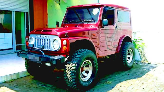 Suzuki Jimny Jangkrik modif offroad