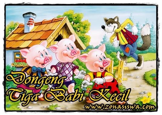 Kisah Dongeng Tiga Babi Kecil (Three Little Pigs) | www.belajarbahasainggris.us