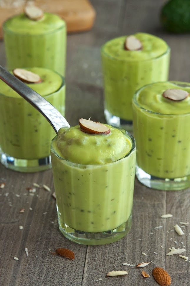 Vanilla & Honey Avocado Pudding