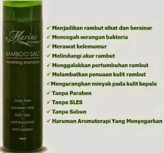 Kelebihan Shampoo Marine Essence