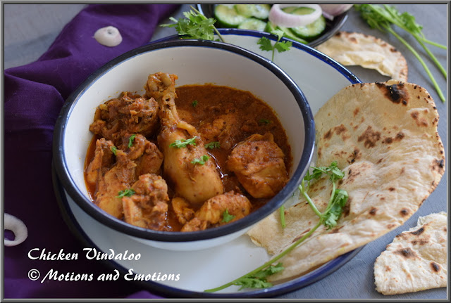 Chicken Vindaloo or Goan Chicken Vindaloo
