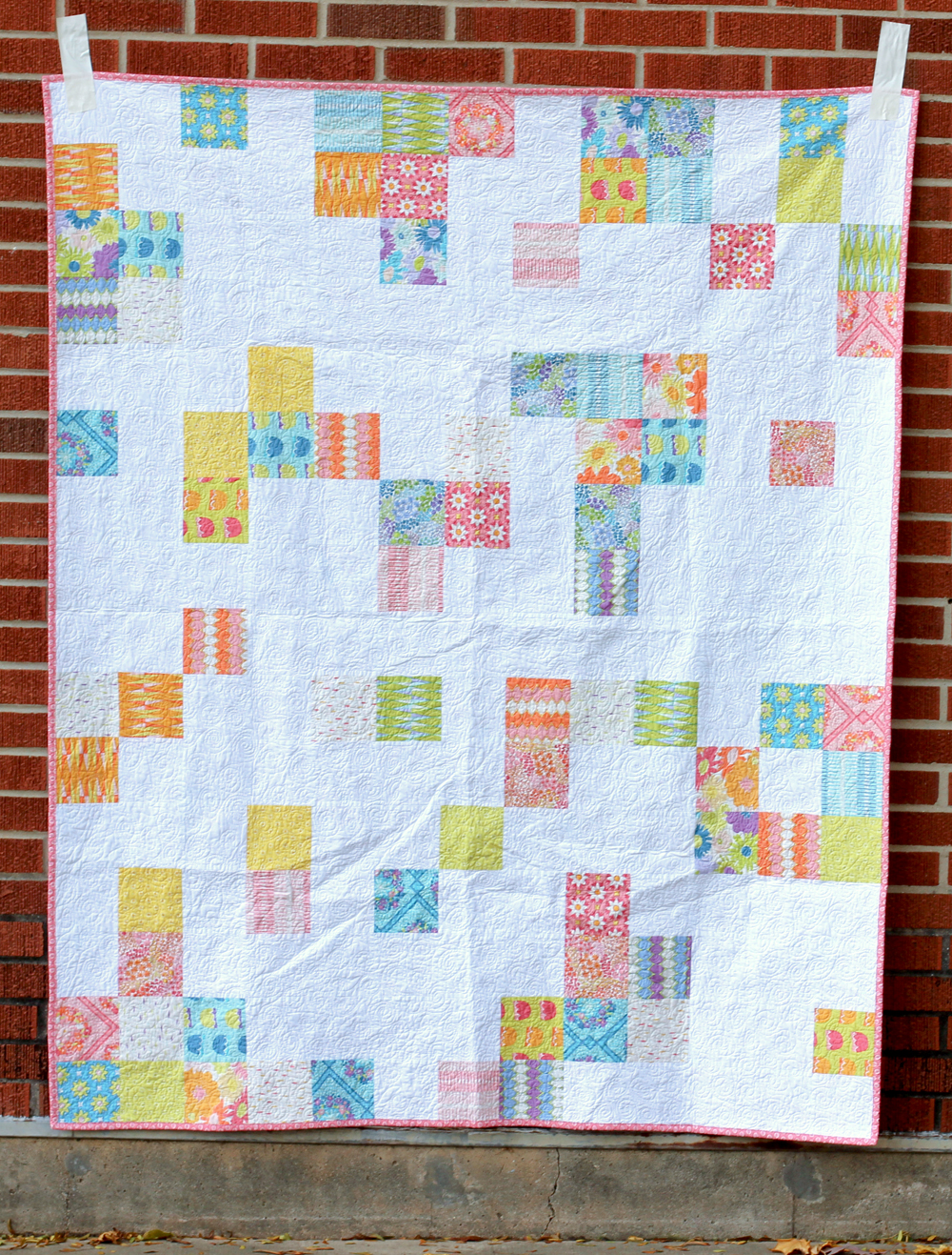 http://www.jenibakerpatterns.com/product/lazy-daisy-quilt-pdf-pattern