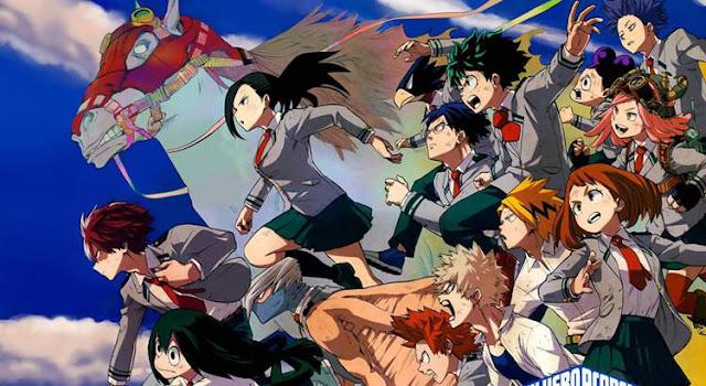 Boku no Hero Academia,My Hero Academia