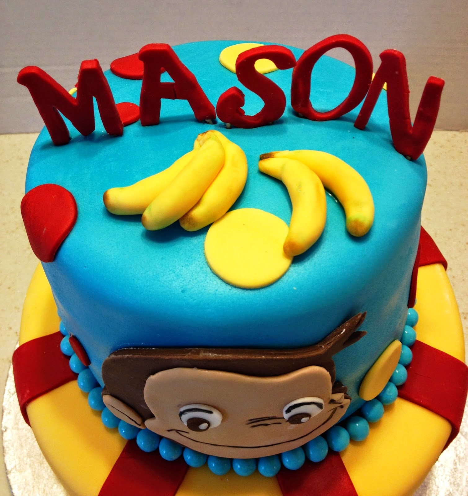 Marymel Cakes A Curious George 2nd Birthday