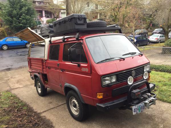 1991 VW Syncro Doka for sale