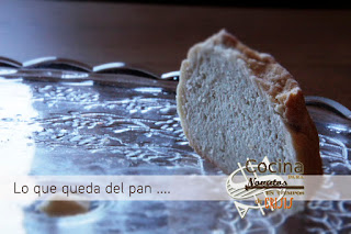 Tostada de pan casero