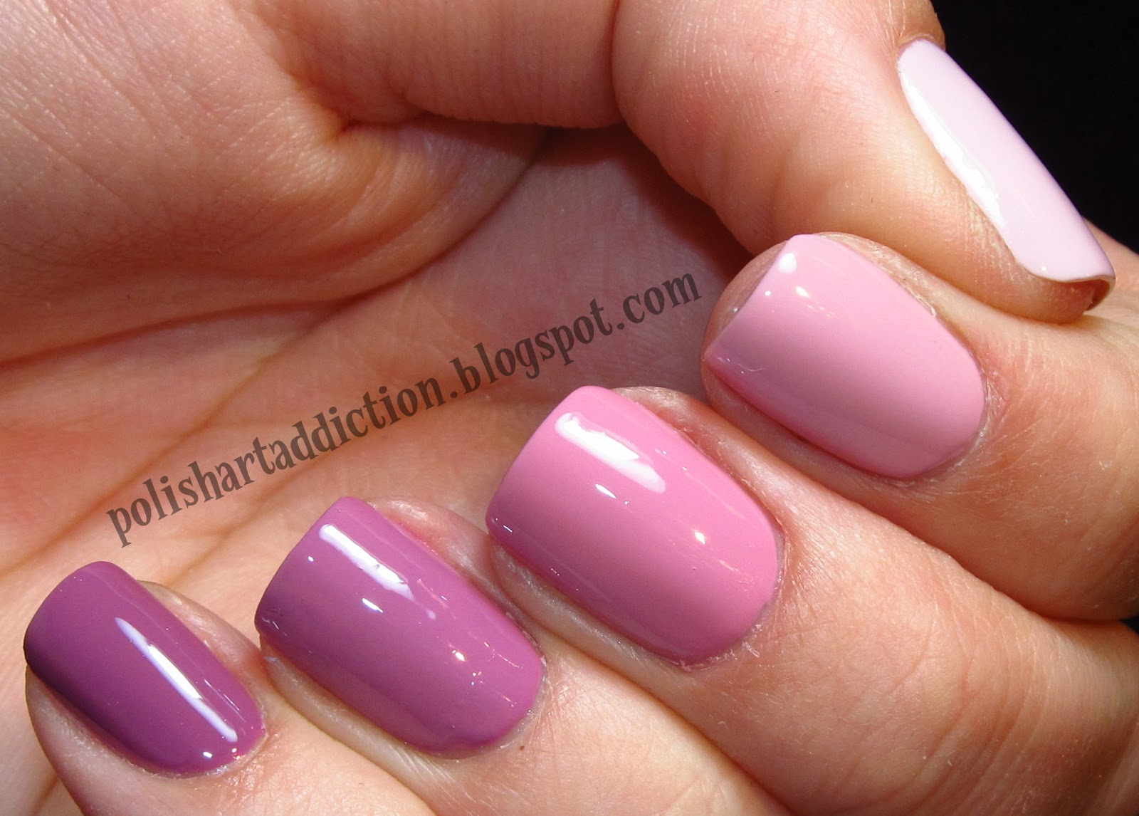 Dusty Pink Ombre