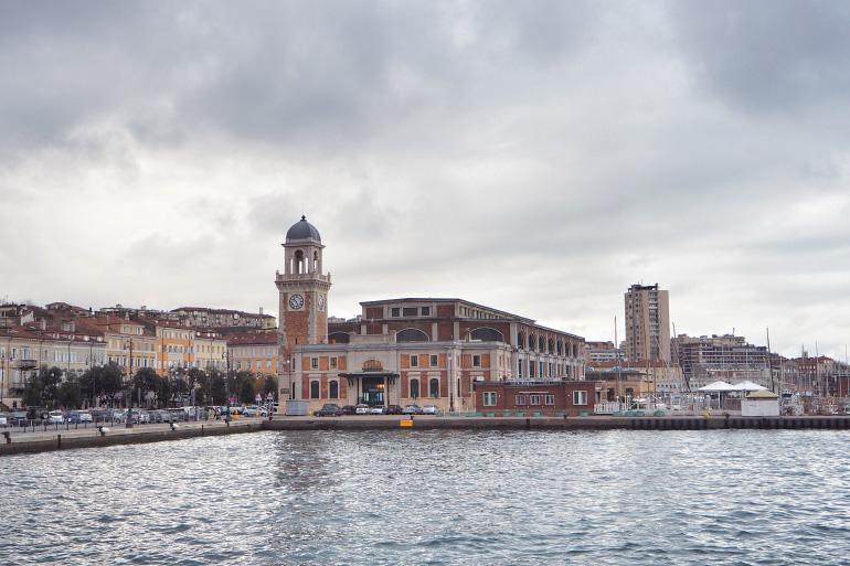 Port de Trieste en Italie