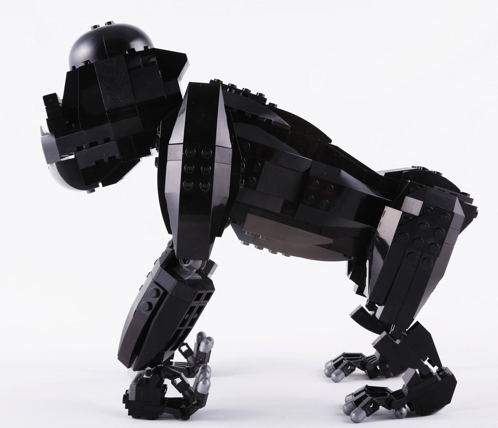 The Brickverse Lego Ideas King Kong Update New Body