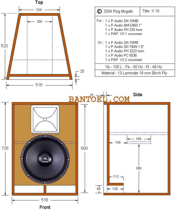 ukuran box speaker middle 15 vokal lantang untuk panggung bantoel com. Black Bedroom Furniture Sets. Home Design Ideas